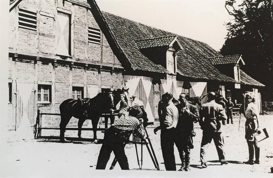 Filmaufnahmen am Tattersall Gestüt Vornholz