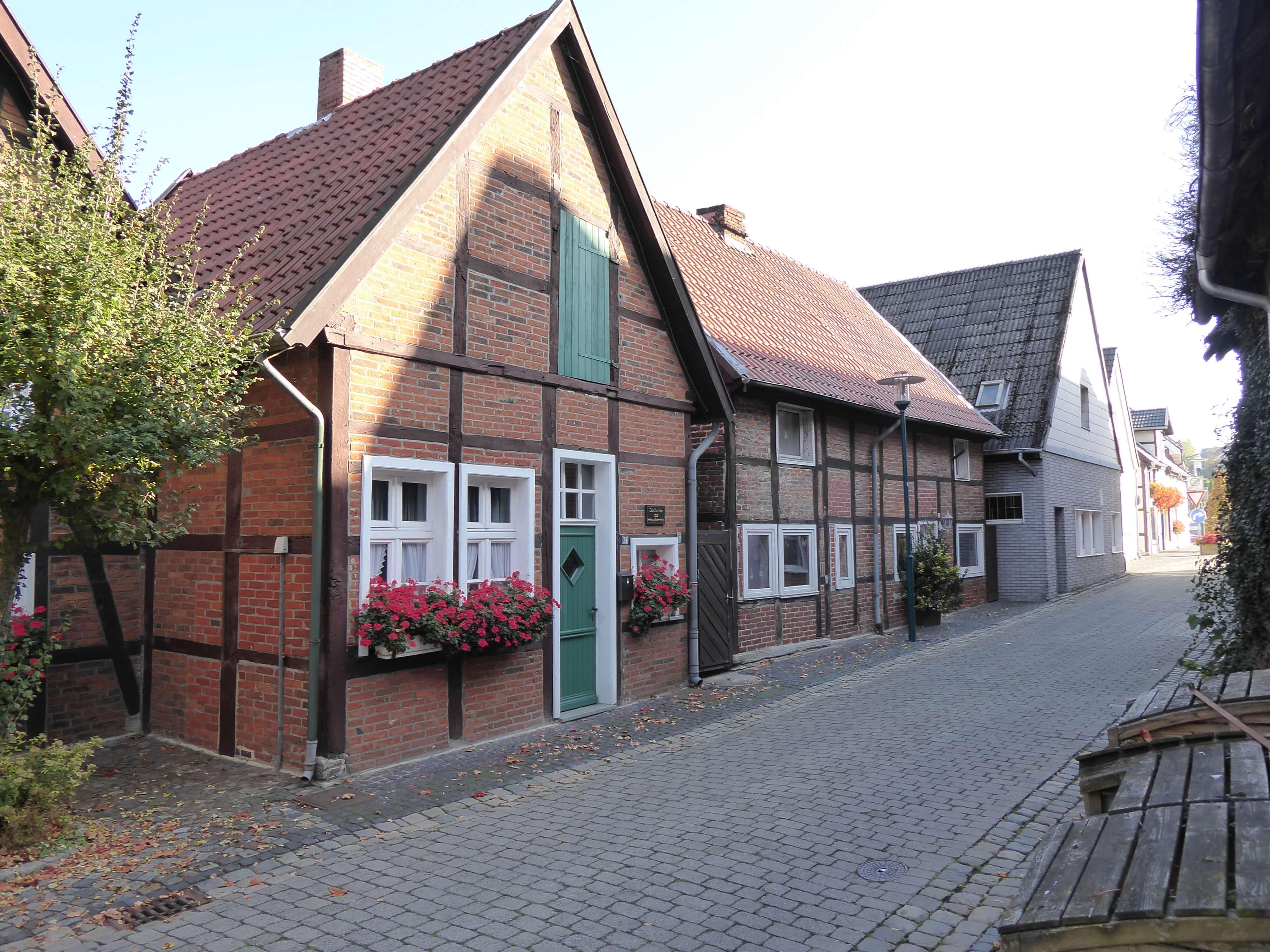 Seitenansicht Dorfarchiv und Heimatmuseum Ostenfelde